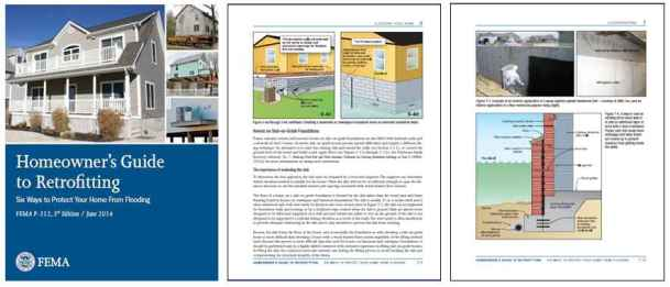 Przykładowe strony poradnika FEMA